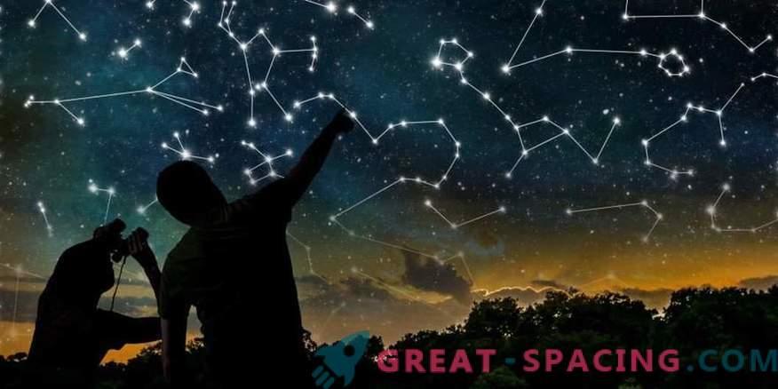 ¿Cómo aparecieron las constelaciones y quién les dio los nombres