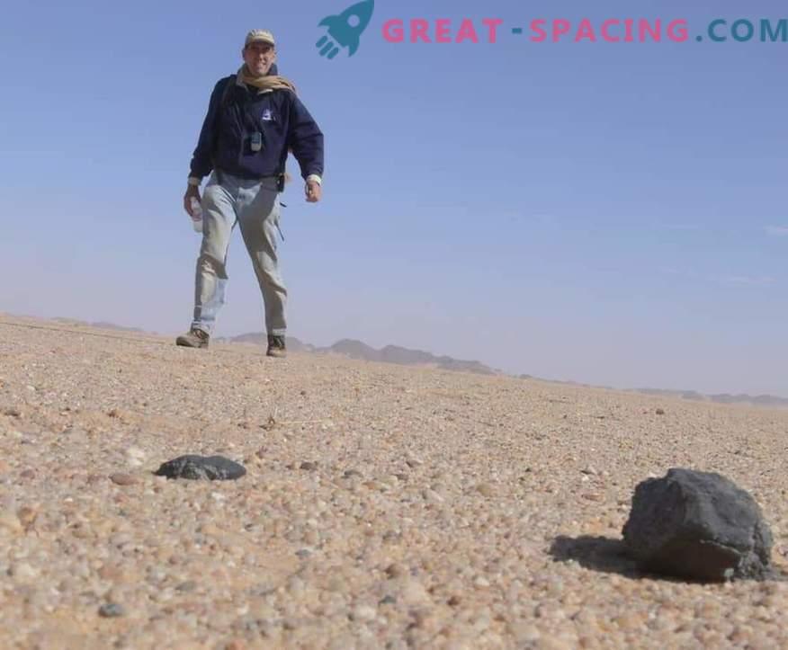 Dimanti meteorītos palīdzēs atrast trūkstošo planētu