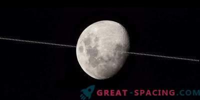 Starptautiskā kosmosa stacija cīnās pret mēness fonu