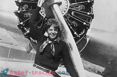 Slēptais Mēness krāteris ir nosaukts Amelia Earhart