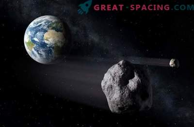 The detected massive asteroid does not pose a danger to the Earth