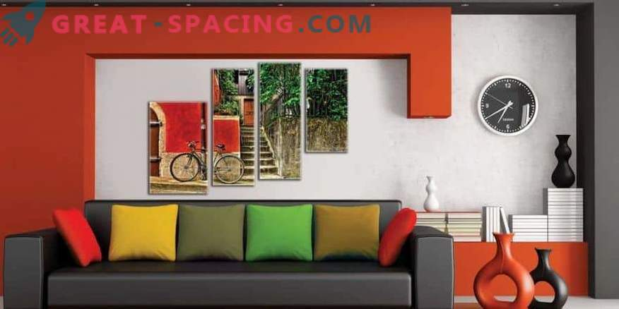 Amazing modular paintings for your interior