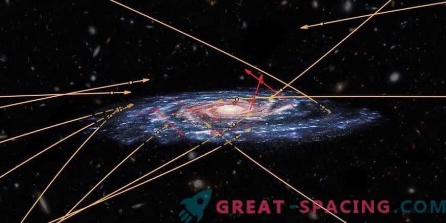 Vairāki svešzemju zvaigznes mēģina izlauzties līdz Piena ceļam