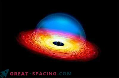 Must auk algab nälga - kvasar on varjatud