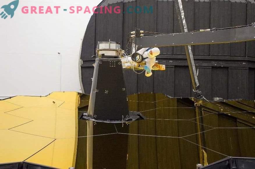 James Webb kosmosa teleskopa pašportrets