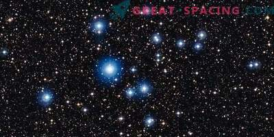 Две горещи звезди показват магнитни полета.