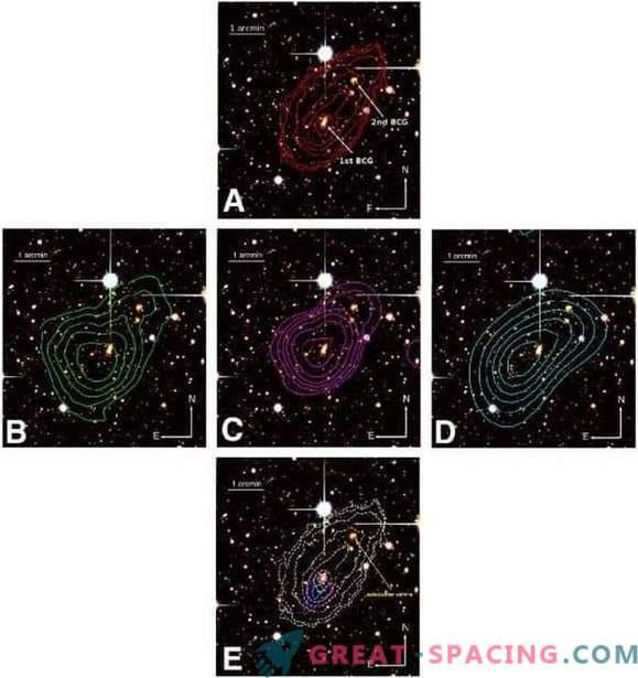 Põhjalik uuring galaktikakomplekti MACS J0417 ühinemise kohta