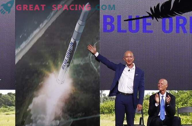 Amazon founder Jeff Bezos will launch space rockets from Florida