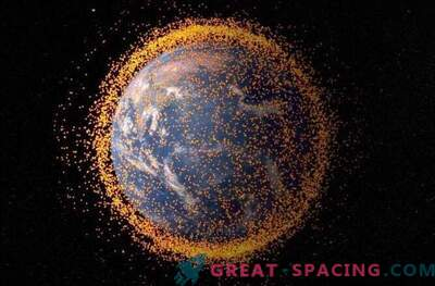 Recycling space debris for flights to Mars