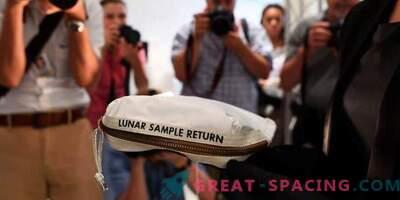 Neil Armstrongova torba za luno se prodaja za 1,8 milijona dolarjev.